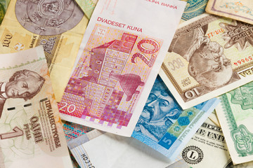 International money background