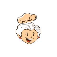 grandma chef cartoon