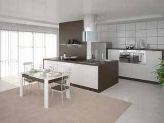 Perfect Design is bright and spacious kitchen.