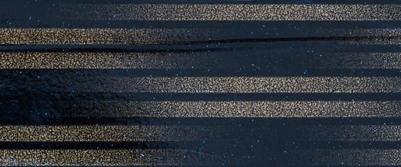 dark blue background with stripes