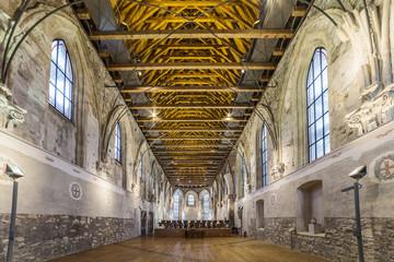 St. Anne's Church in Prague, interior