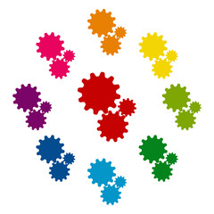 Colorfull icons set