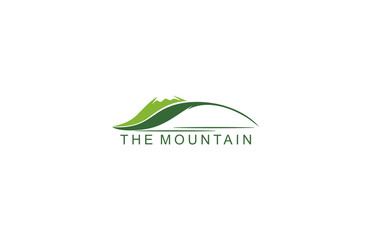 green mountain leaf logo