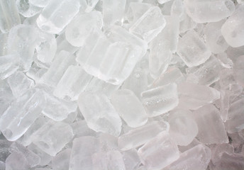 Ice cubes placed deposition, Background ice cubes