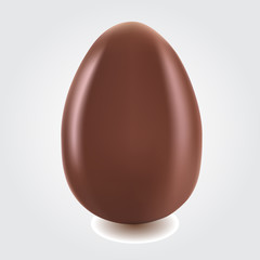 isolated-single-chocolate-egg