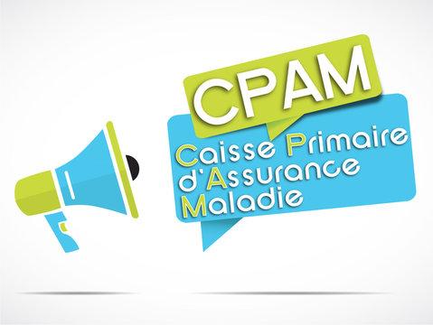 mégaphone : CPAM