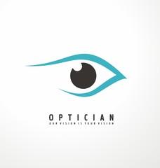 Eye vector symbol design idea