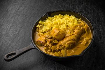 タイのチキンカレー  Thai yellow chicken curry