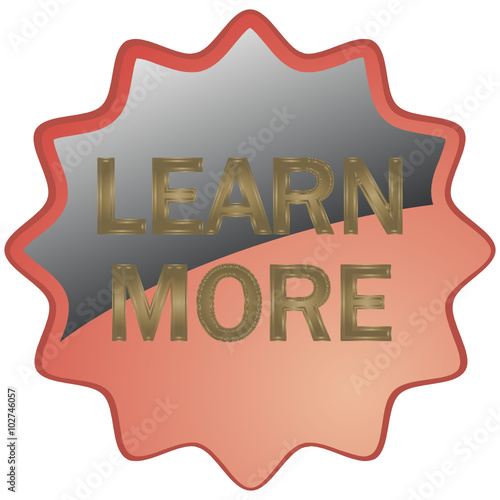 """LEARN MORE ICON"" Stock image and royalty-free vector ..."