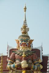 Shrine Udon Thani City Shrine The worship of the inhabitants And adloussopy Giant who protect the city of Udon Thani  Thailand