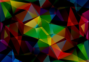 bright colored background