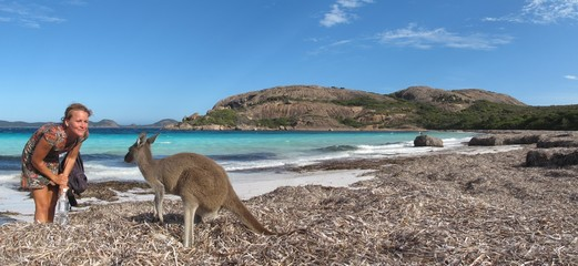 Lucky Bay, Cape Le Grand NP, West Australia