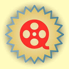 Video gold icon