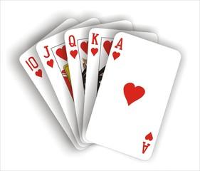 Hearts poker