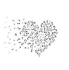 Vector Musical Heart
