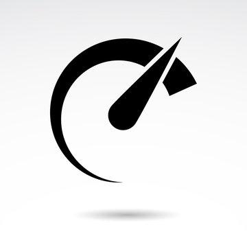 Speed vector icon.