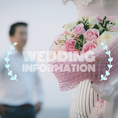 wedding quote on flower photo background
