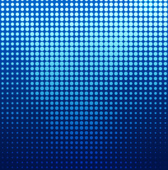 blue dots background