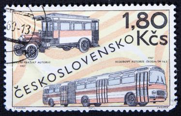 Чехословацкая почтовая марка, 1969 год