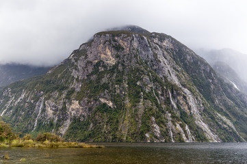 Fjords of Milford Sound, South Island, New Zealand