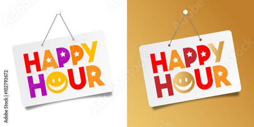 happy hour fichier vectoriel libre de droits sur la. Black Bedroom Furniture Sets. Home Design Ideas