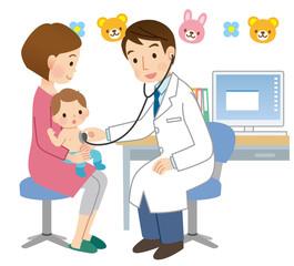 乳幼児健診 子ども 医療