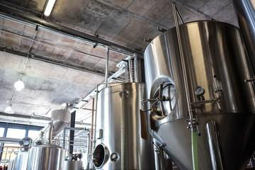 Large vat of beer