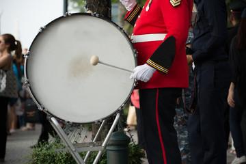 Military drum.