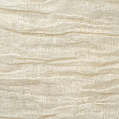 Background of natural cotton gauze