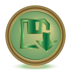 Download emerald color icon