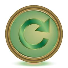 Reload emerald color icon