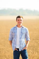 Young Man High School Senior Portrait