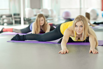 woman in sport, aerobic