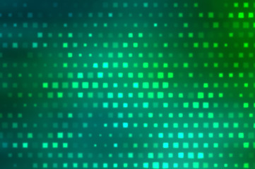 Image of defocused stadium lights..Abstract blue and green backg
