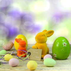 Grußkarte - Frohe Ostern