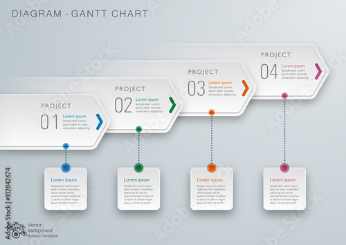 Gantt chart diagram vector graphic stock image and royalty free gantt chart diagram vector graphic ccuart Images