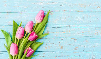 Strauß Tulpen Rosa