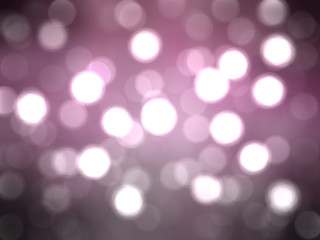Bokeh light, shimmering blur spot lights on pink abstract