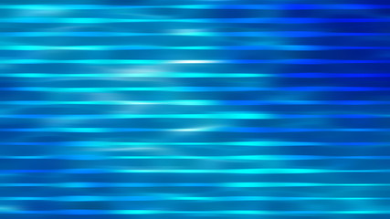 abstract blue background. horizontal lines and strips