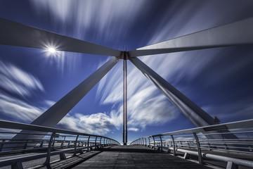 Canvas Prints Bridge bridge madrid. Spain.