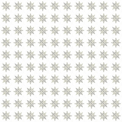 Golden stars seamless pattern. No background. Made by means of openclipart.org element.