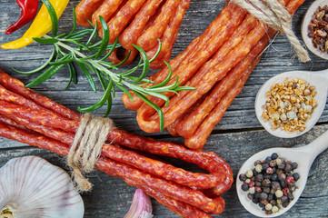 Snack stick sausage