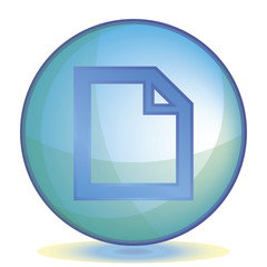Icon File color of aqua