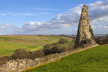 Hadleigh Castle Remains in Essex