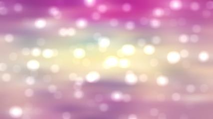 Bokeh light, shimmering blur spot lights on vintage abstract