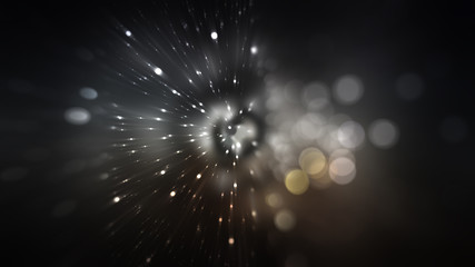 abstract grey background. explosion star.
