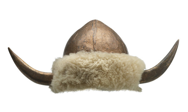 viking hat with big horns