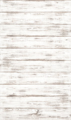 Photo sur Aluminium Bois White wooden background with natural wood pattern texture