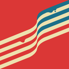 America. American flag