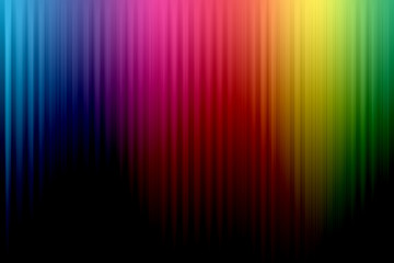 Rainbow Lined Background